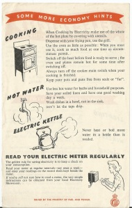 Save electricity in the home 2